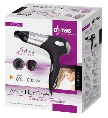 Anion Hair Dryer