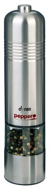 Electric Stainless Steel Salt and Pepper Mill