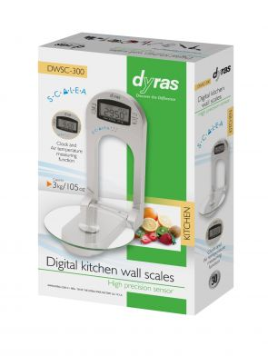 Digital Wall-Mounted Kitchen Scale