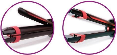 2in1 Ceramic-Coated Hair Straightener